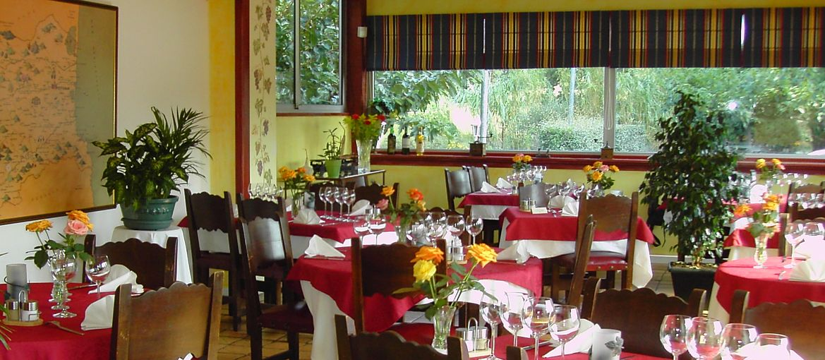 Petit salon pour un repas de famille