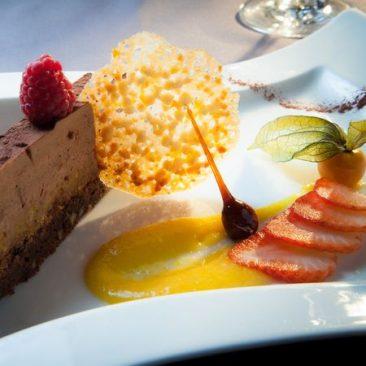 velours chocolat du restaurant aramon gourmand près de Perpignan