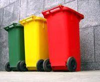 poubelles pour recyclage